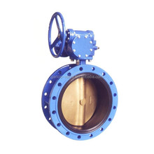 High-performance two-way pressure flange butterfly valve
