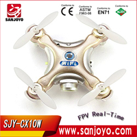 Mouse over image to zoom Cheerson-CX-10W-Mini-Wifi-FPV-0-3MP-Cam-LED-3D-Flip-2-4G-4CH-6-axis-remote helicopter RC toys