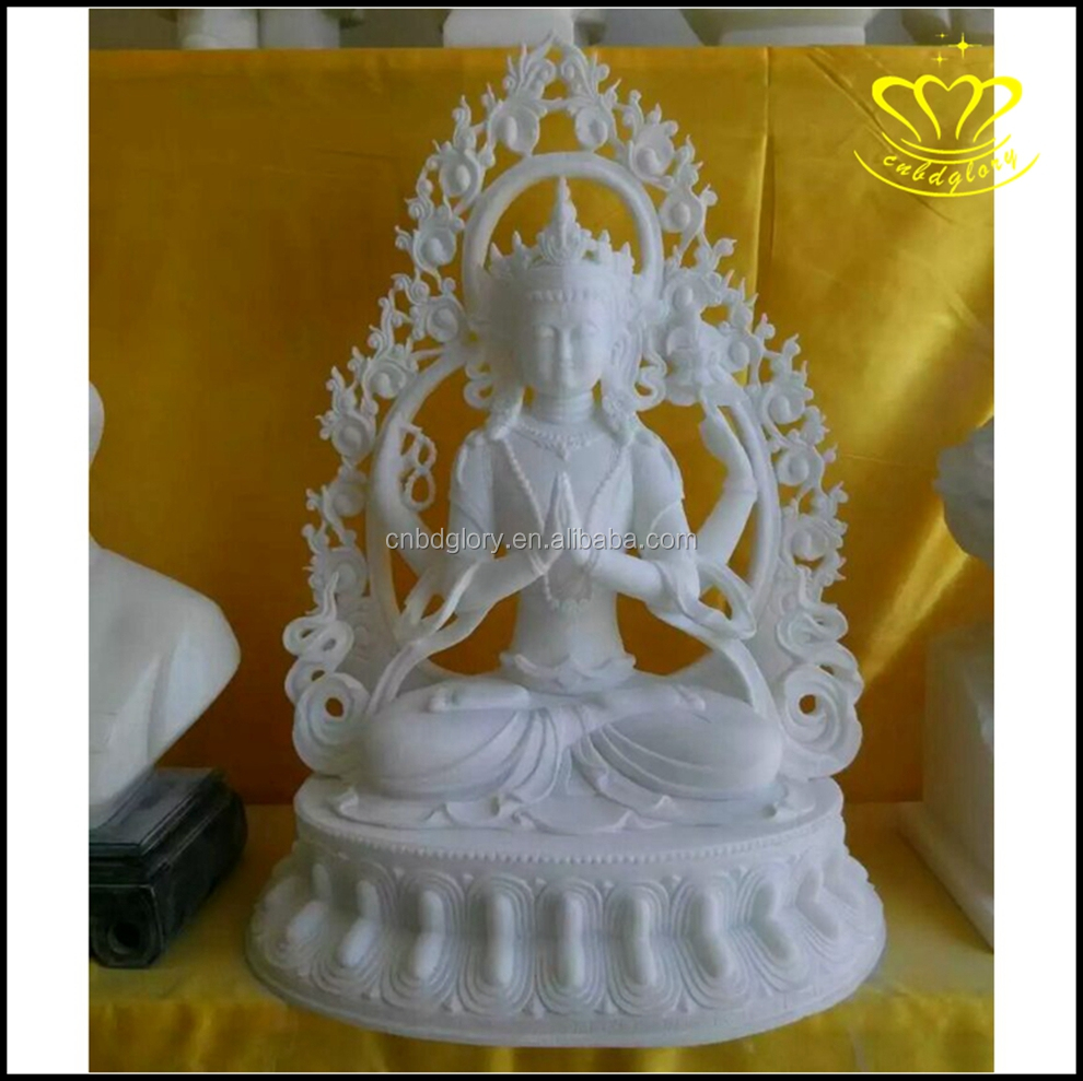 Hot sale High Quality Jade stone buddha statue