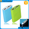 Newest colorful universal free sample power bank 6000mAh for supermarket retail