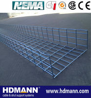 Flexible Electrical galvanized wire basket cable tray with accessoriess new design CABLOFIL style