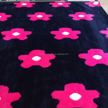Wholesale high quality super soft spandex Velvet / Velboa / Velour fabric