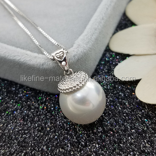 Cheap wholesale pearl pendant designs mounting charms