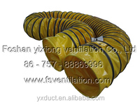 PVC heat-resistant straight sleeve stype ducting,air blower hose