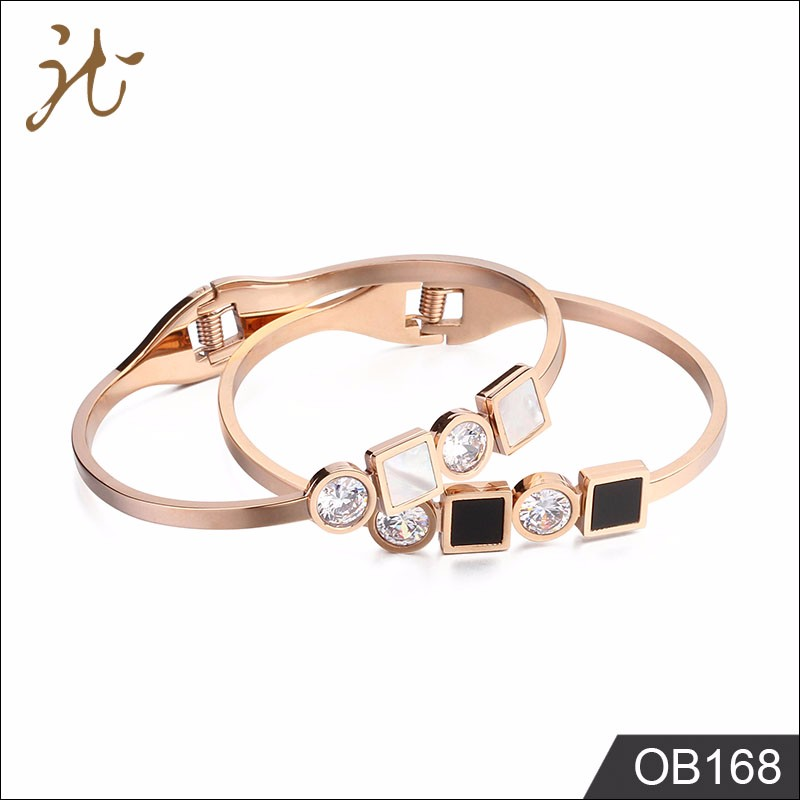 Fancy Stainless Steel Bracelet Bangle Gold Bracelet Design For Girls