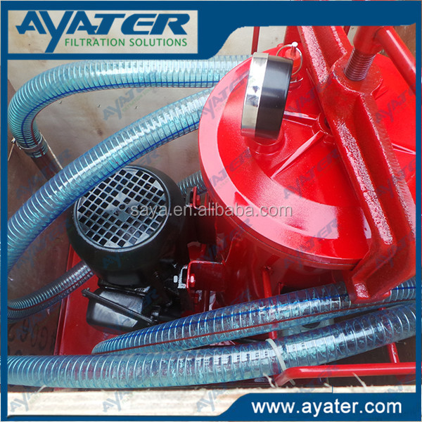 AYATER supply Two-Stage BLYJ Series Used Mobil Oil Recycling Machine