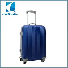 Fashionable high quality decent popular ABS PC suitcase manufacturer travel set