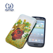 Custom size cute bear print mobile phone case