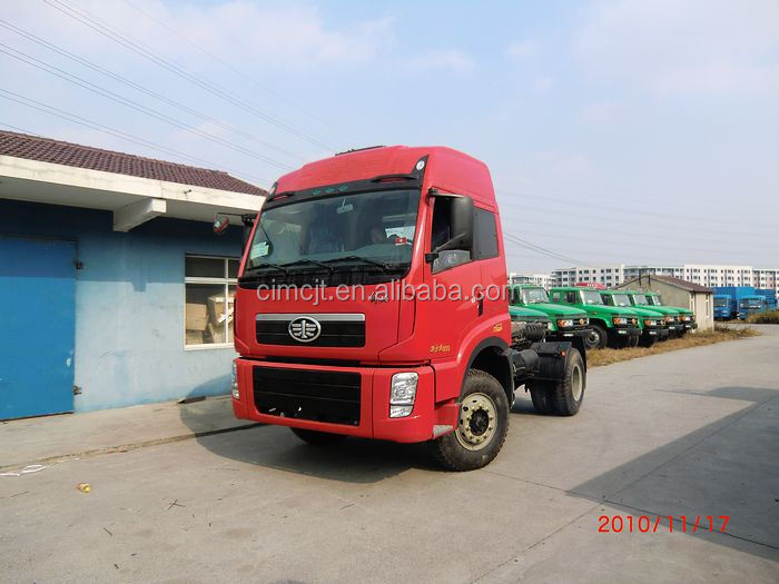 Used/Secondhand FAW Tractor Truck/Tractor Head 4X2 & 6X4