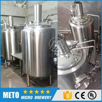 7BBL Craft beer commercial brewery brewing equipment for sale with steam heating boiler