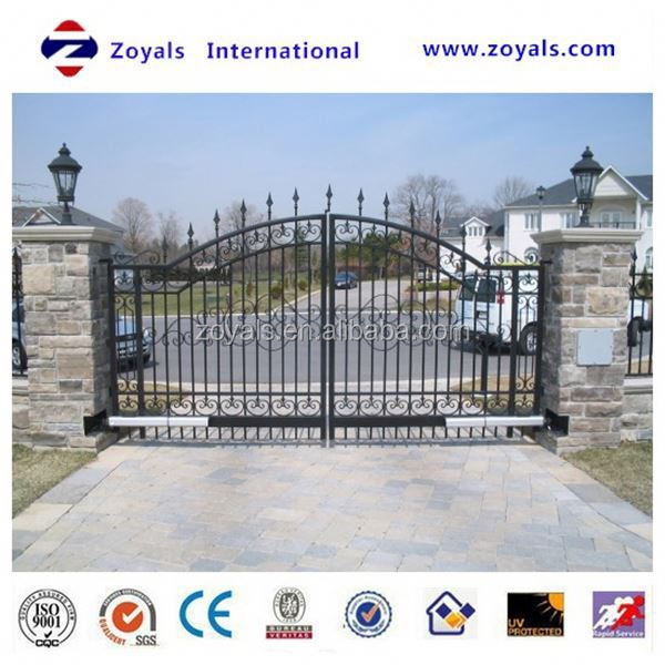2015 high quality beautiful house gates