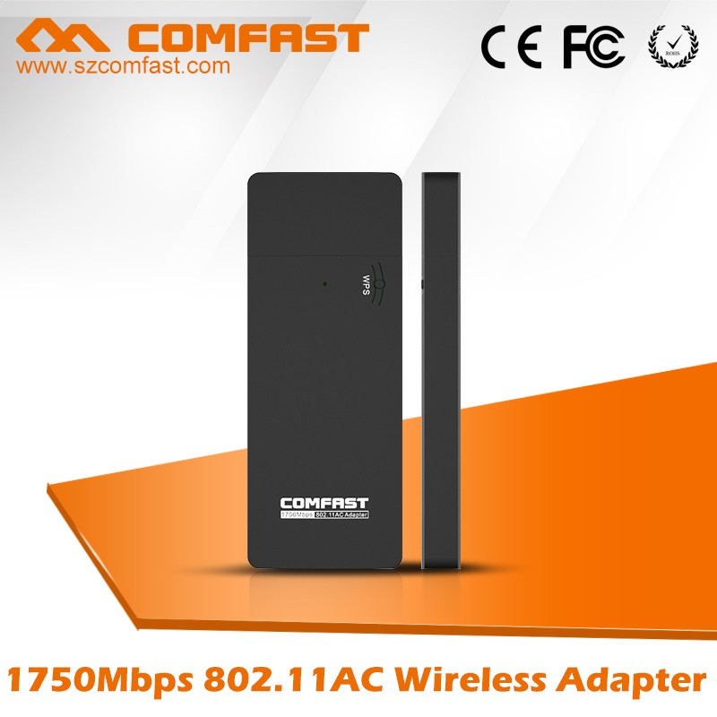 High Power For 1750Mbps COMFAST CF-917AC Realtek RTL8814 802.11n wireless lan usb adapter With DHL Shipping