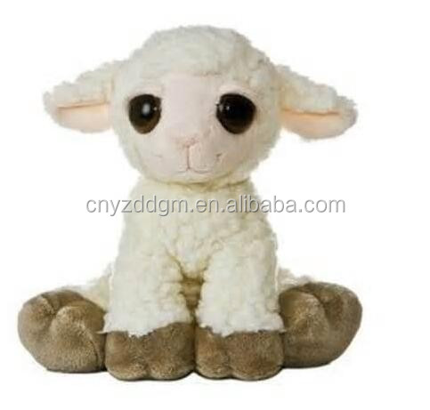 "10"" Dreamy Eyes Lea Lamb Plush Stuffed Animal Toy/The Plush Lamb Dreamy Eyes Stuffed Animal"