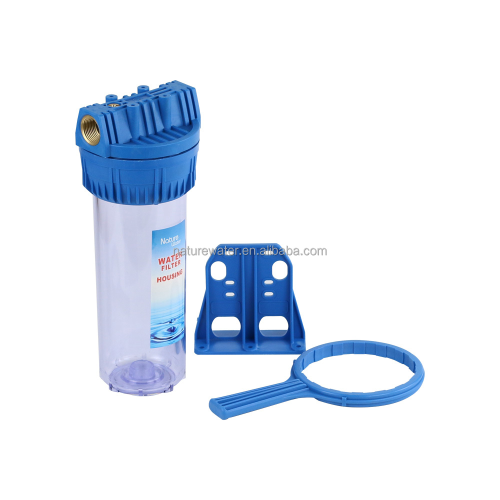 PET-single stage Atalas type plastic housing use to water purifier NW-BR10A