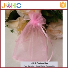 Wholesale Customized Fashion Cheap Organza indian drawstring pouch