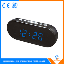 Best Selling Products Colorful Car Led Alarm Natural Sound Clock Radio