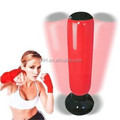 Customized Free standing with air pump repairing kit Boxing Trainer Sand Inflatable Punching Bag for kids and adults