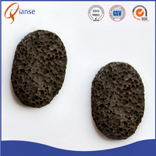 OEM promotional factory price pumice sponge brick block black pumice stone powder