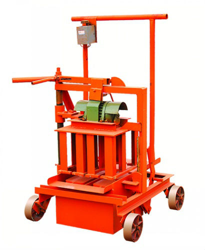 Low Price small manual QM40A Mobile Brick Making Machine