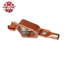 large 300A adjustable alligator clip of copper lug