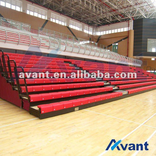 vogue stadium chair telescopic seat retractable seat for basketball softball entertainment sports games