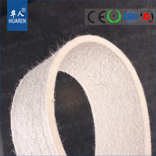 wholesaler white 5.5mm thick blended wool felt for industry