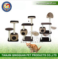 Aimigou QQpet new style cat tree sisal beige cat tree condo cat tower