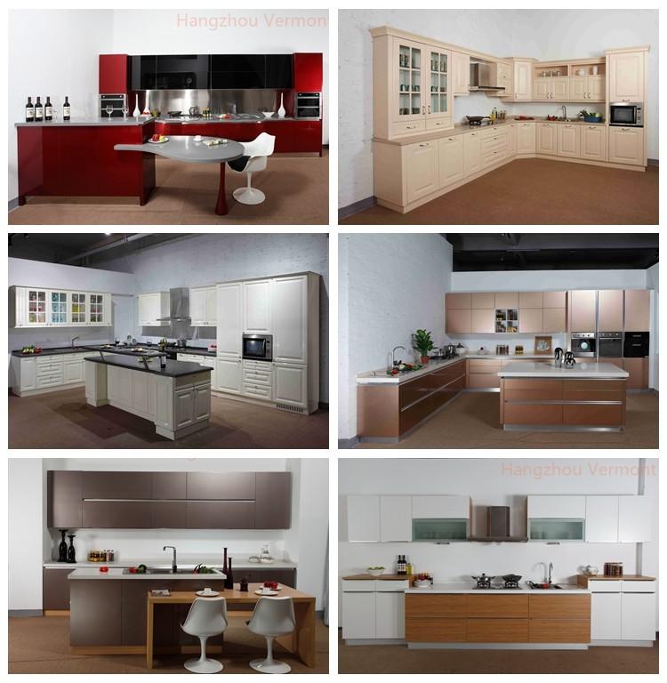 2017 vermont chine usine laque modulaire cuisine conceptions avec prix armoir - Cuisine a prix usine ...