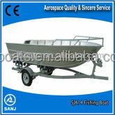 SJA 14 Aluminium Boats for fishing With CE