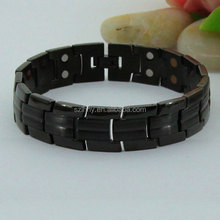 Hot Selling Black Tungsten Wide Magnetic Wrist Band in Mexico Marketing