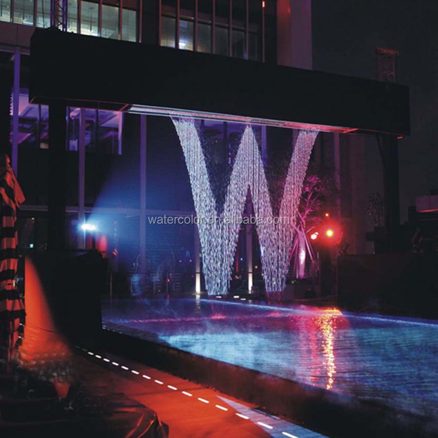 Water Show Digital Water Curtain Water Fountain for business/ party/home using
