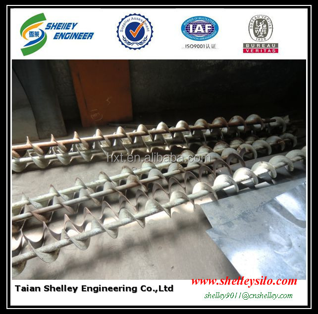 grain used stainless steel screw auger conveyor