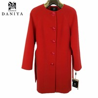 High Quality Wool Women Coat Winter Long Overcoat Plus Size 2 Colors Female Fashion Casual Long Sleeve Wool Long Winter Coats