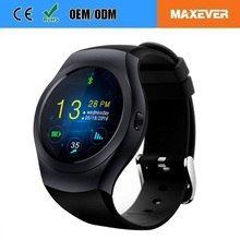 OEM Hot Selling Bluetooth Waterproof Round IPS Screen Smart Watch Phone