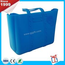 Popular colorful famous low cost silicone handbag