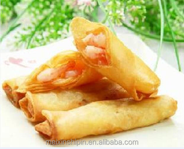 Frozen food cantonese shrimp spring roll