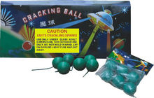 Cracking ball loud firecrackers bangers and match crackers fireworks