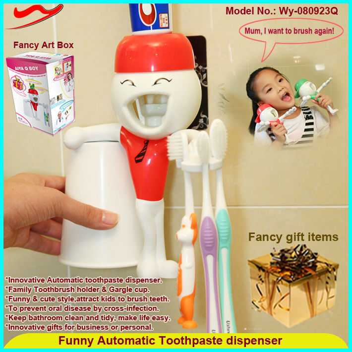 Latest special job promotion gifts 2016 of Automatic Toothpaste dispenser
