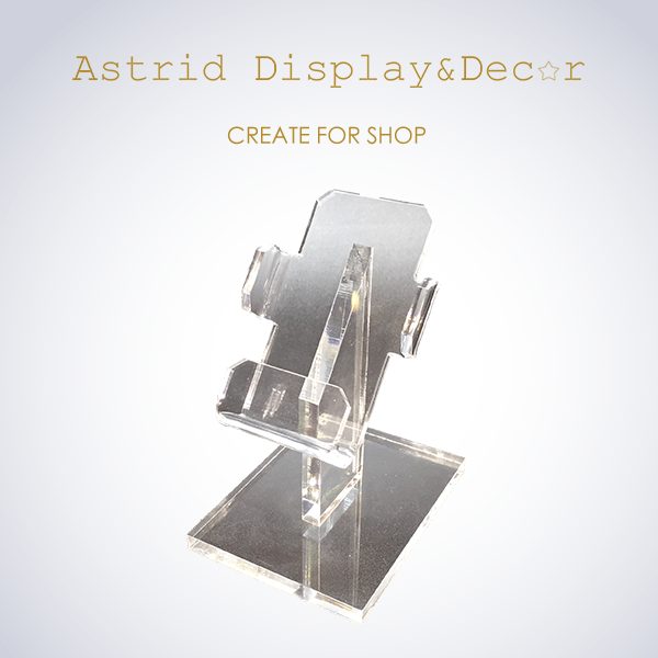 High Quality Acrylic Store Retail Display Board Rack