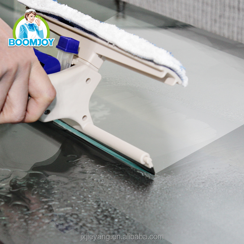 Boomjoy C4 Professional Squeegee Kit Progrip Window Cleaning -Spray Scrap Wipe in one step