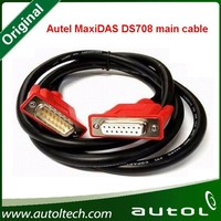 100% original Autel maxidas DS708 main cable OBD II car diagnostic connector Professional Works together with Autel DS708