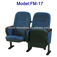 FM-17 Folding chair with retractable table for auditorium made in China