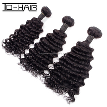 Wholesale price Brazilian human hair high quality Virgin Hair Extension Deep wave