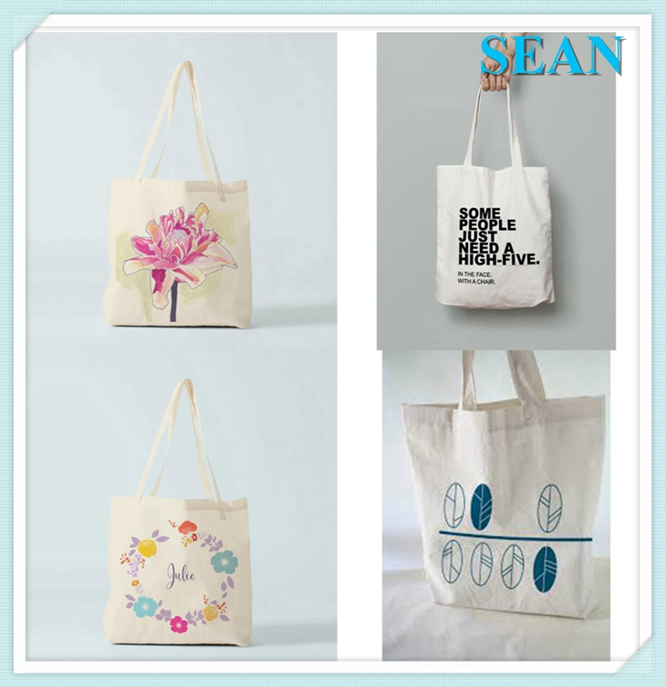 2016 Best Selling Customized Sublimation Cotton Recycle Conference Tote Bag