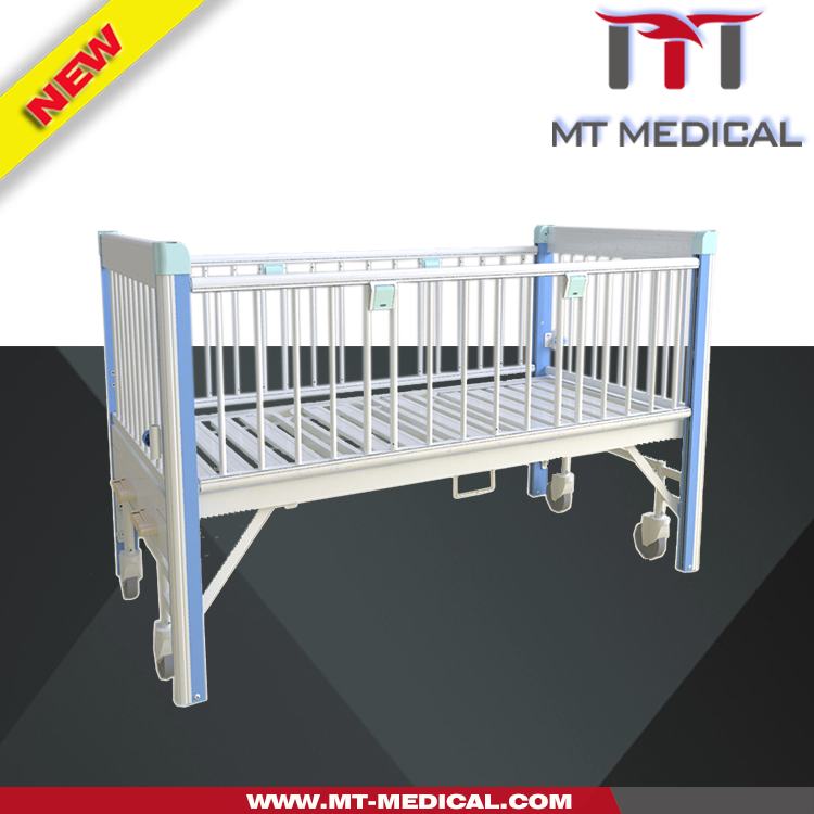 one crank hospital Paediatric bed kid sleeping cot children medical beds hospital child bed