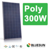 CE TUV UL certificated high efficiency poly 300w solar panle with build in inverter
