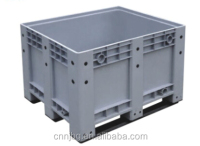 industrial warehouse heavy duty plastic collapsible pallet box container