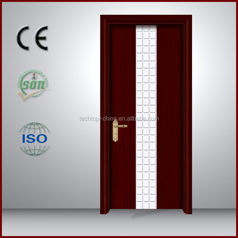 Home Interior Swing pvc door china Finger Jointed Hot sale