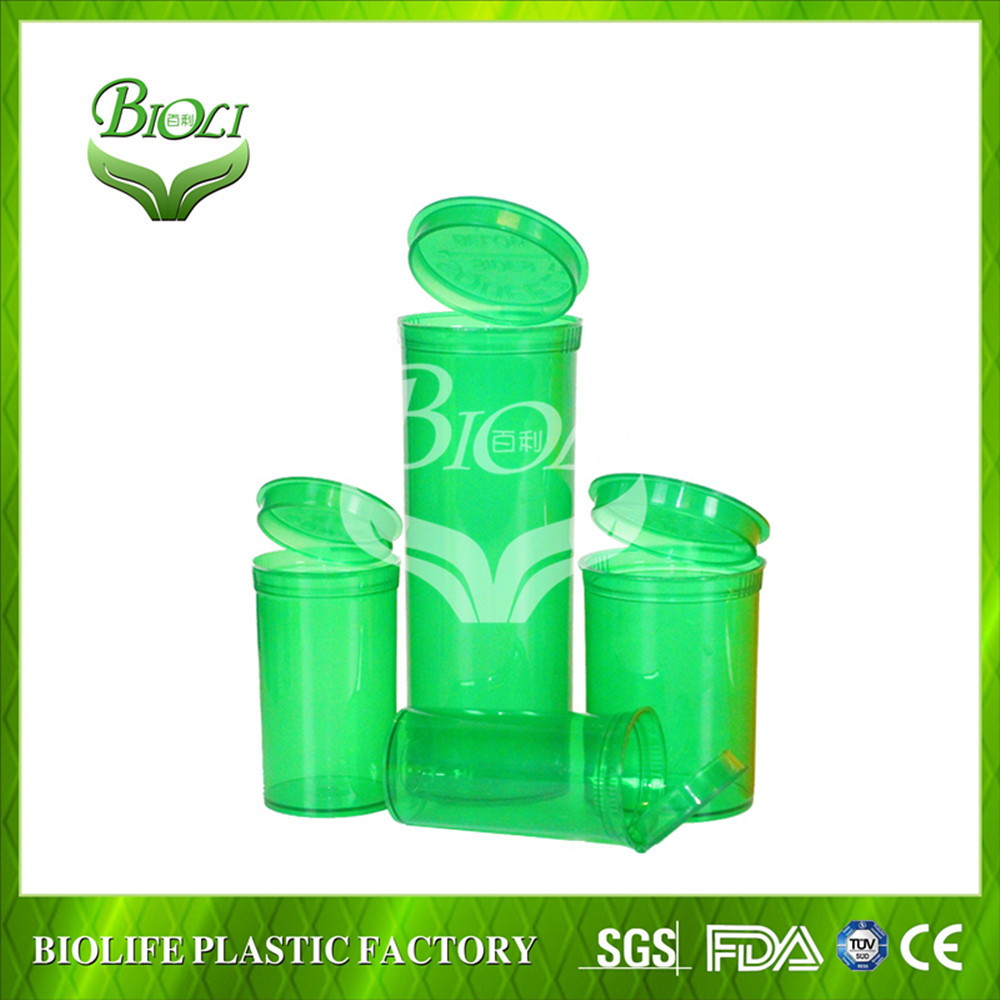 2017 New Developed Pharmaceuticals Plastic Vials Made in China