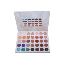 Cosmetic makeup 35 colors kiss beauty eyeshadow palette with brush